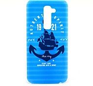 Anchor Pattern Hard Case for HTC G2/D801 Magic