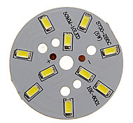 5W 400-450LM Cool White luz 5730SMD módulo de LED integrado (15-18V)