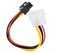IDE 4Pin to 6Pin Graphics Power Adapter Cable
