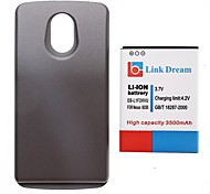Link Dream High Quality 3.7V 3500 mAh  Thickened Cell Phone Battery + Grey Back Cover for Samsung i9250 (FB-L1F2HVU)