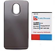 Cell Phone 3.7V link Sogno di alta qualità 3500 mAh ispessito Battery + Grigio Back Cover per Samsung i9250 (FB-L1F2HVU)