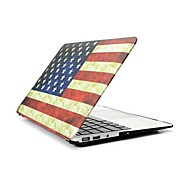 "Angibabe Retro USA-Flaggen-Vollhartplastik-Hülle für 13,3 ""Zoll Macbook Air"