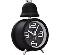 Timess™  Little Single Bell Night-light Mute Alarm Clock