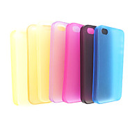 Frosted Back Case Cover Skin for iPhone 4/4S(Random Color)