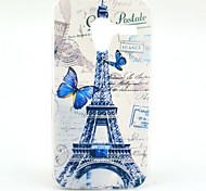Paris Tower Pattern Plastic Hard Case for Motorala Moto X