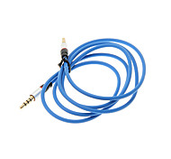 1.2M 4FT Auxiliary Aux Audio Cable 3.5mm Jack Male to Male Cord