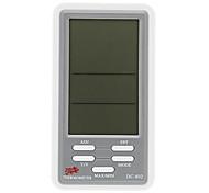 Digital Termo-higrômetro Medidor e Calendário DC-802