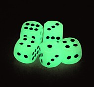 Funny Humour Gambling Bar Dice Luminous Dice(5 PCS)