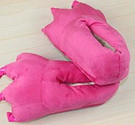 Cute Pink Cotton Animal Kigurumi Slippers Paw (Kid:21cm,Femal:26cm,Male:31cm)