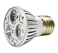 MR16 3W 1W * 3 LEDs 270-300LM Warm White / White Light LED-Spot-Lampe (AC 100 - 220V)