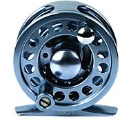 2+1 Ball Bearing 60mm Al Alloy Blue Fly Fishing Reel