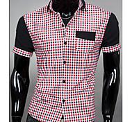 Camicia con colletto Fashion stand Uomo Casual