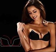 2014 Nova asas do anjo Sexy Backless Strapless e auto-adesivo nupcial Push Up Bra