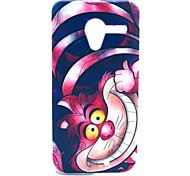 Lovely Cat Pattern Plastic Hard Case for Motorala Moto X