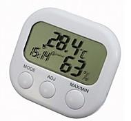 Alarma LCD Digital termómetro higrómetro Temperatura Humedad MeterTS-307C