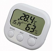 Digital Alarm LCD termômetro higrômetro Temperatura Umidade MeterTS-307C
