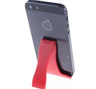 Klappständer Halter für iPhone / iPad Mini, Galaxy Note und andere (rot)
