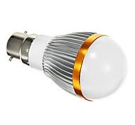 B22 5 W SMD 5730 400 LM Warm White Globe Bulbs AC 85-265 V