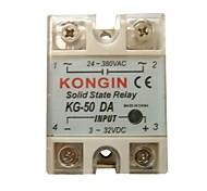 KONGIN KG-50DA 24-380VAC Relé de Estado Sólido