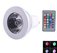 NO Dimmbar/Ferngesteuert Spot Lampen GU10 3 W 180LM LM K 1 Blau/Kühles Weiß AC 85-265 V