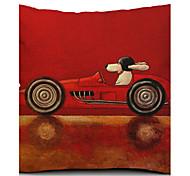 Декоративная наволочка для подушки, из хлопка