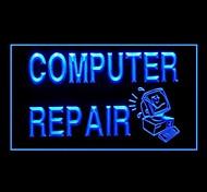 Reparação de Computadores Publicidade LED Sign