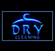 Clothing Dry Cleaning Advertising LED Light Sign