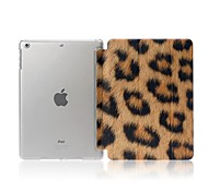 caso estampa de leopardo com auto sleep / wake up para o mini ipad 3, mini ipad 2, mini ipad