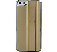 Caso duro di sigaretta novità ricaricabile Accendino oro di disegno di plastica per iPhone 5/5S