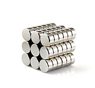 Magnet Toys 10Pcs 10x10x5mm Magnet Toys / Super Strong Rare-Earth Magnets / Neodymium Magnet Executive Toys Puzzle Cube DIY ToysMagnetic