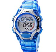 Children PU Band Multifunction LED Digital Sports Wrist Watch 50m Waterproof (Assorted Colors)