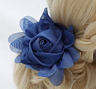 Women's / Flower Girl's Chiffon Headpiece-Wedding / Special Occasion / Outdoor Flowers