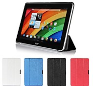 Leather Smart Cover  Folio Flip Stand Case for Acer A3-A10