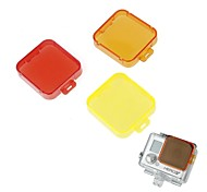 G-494 PC Under Sea Filter Covers Set for Gopro Hero 3+