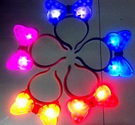 Coway Super Bright LED Nightlight Butterfly Headbands Christmas Holloween(Random Color)