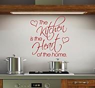 JiuBai™  Kitchen Word Quote Art Wall Sticker Wall Decal