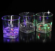 Coway The Bar Dedicated Light-Emitting LED Drinkware Square Glass