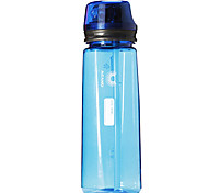 ACANU 750ML Blue Plastic Cycling Bottle with Drinking Straw