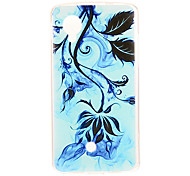 Kinston Ink Painting Plant Pattern TPU Soft Back Cover Case for Google LG Nexus 5