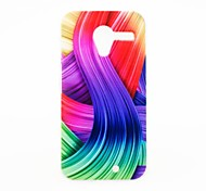 For Motorola Case Pattern Case Back Cover Case Color Gradient Hard PC Motorola