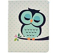 Dormire Owl modello PU Custodia in pelle completo con supporto per iPad 2/3/4