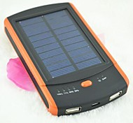 ICAMI™ 6000mAh  Dual USB Multi-Output Solar Power Bank for Mobile Devices