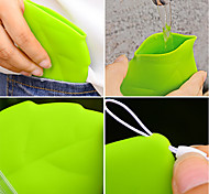 Portable Leaf Style Pocket Cup
