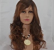 22Inch Capless Long High Quality Synthetic Wavy Soft Hair Wig Mix 2/33