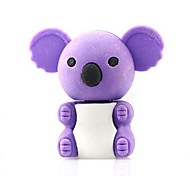 Cute Detachable Koala Shaped Eraser (Random Color x 2 PCS)
