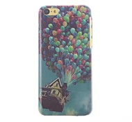 Colorful Balloons Pattern PC Hard Case with Black Frame for iPhone 5C