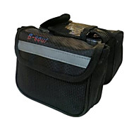 Others / Bike Frame Bag Cycling/Bike For Waterproof / Reflective Strip / Wearable , Black , 600D Polyester)