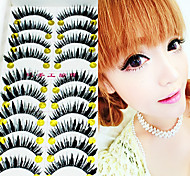 1 Pcs Pure Manual Thick False Eyelash