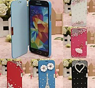 CaseBox® Luxury Design with Diamond Full Body Case for Samsung Galaxy S5 I9600 (Assorted Color)