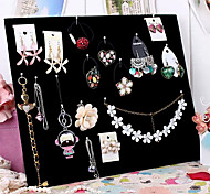 Jewelry Displays Flannelette / Paper Geometric Black